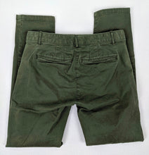 Load image into Gallery viewer, Gap Skinny Mini Khakis Army Green sz 2