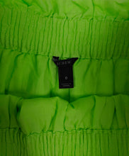 Load image into Gallery viewer, J. Crew Neon Green Skirt sz 0