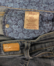 Load image into Gallery viewer, $199 Paige Premium Denim Skyline Skinny Jeans sz 25