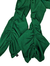 Load image into Gallery viewer, Banana Republic Luxury Cashmere Blend Kelly Green Ruched Scarf