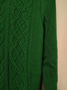 $70 Talbots Cableknit Lambswool Blend Sweater sz S