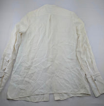 Load image into Gallery viewer, Maiyet Ivory Silk Blouse sz 38