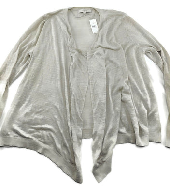 NWT Ann Taylor Split Neck Tunic  Blouse Top  $69.50  Ivory  NEW