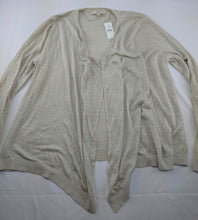 Load image into Gallery viewer, $50 NWT Ann Taylor Loft Open Front Sweater sz L