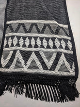 Load image into Gallery viewer, $99 SAM EDELMAN Weekender Poncho Knit Shawl Blanket Wrap sz S