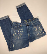 Load image into Gallery viewer, 7 for All Mankind 7FAM Womens Jeans Josefina Feminine Boyfriend sz 30 NWT $279