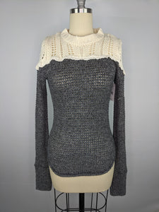 Free People Snowflake Sweater sz XS NWT