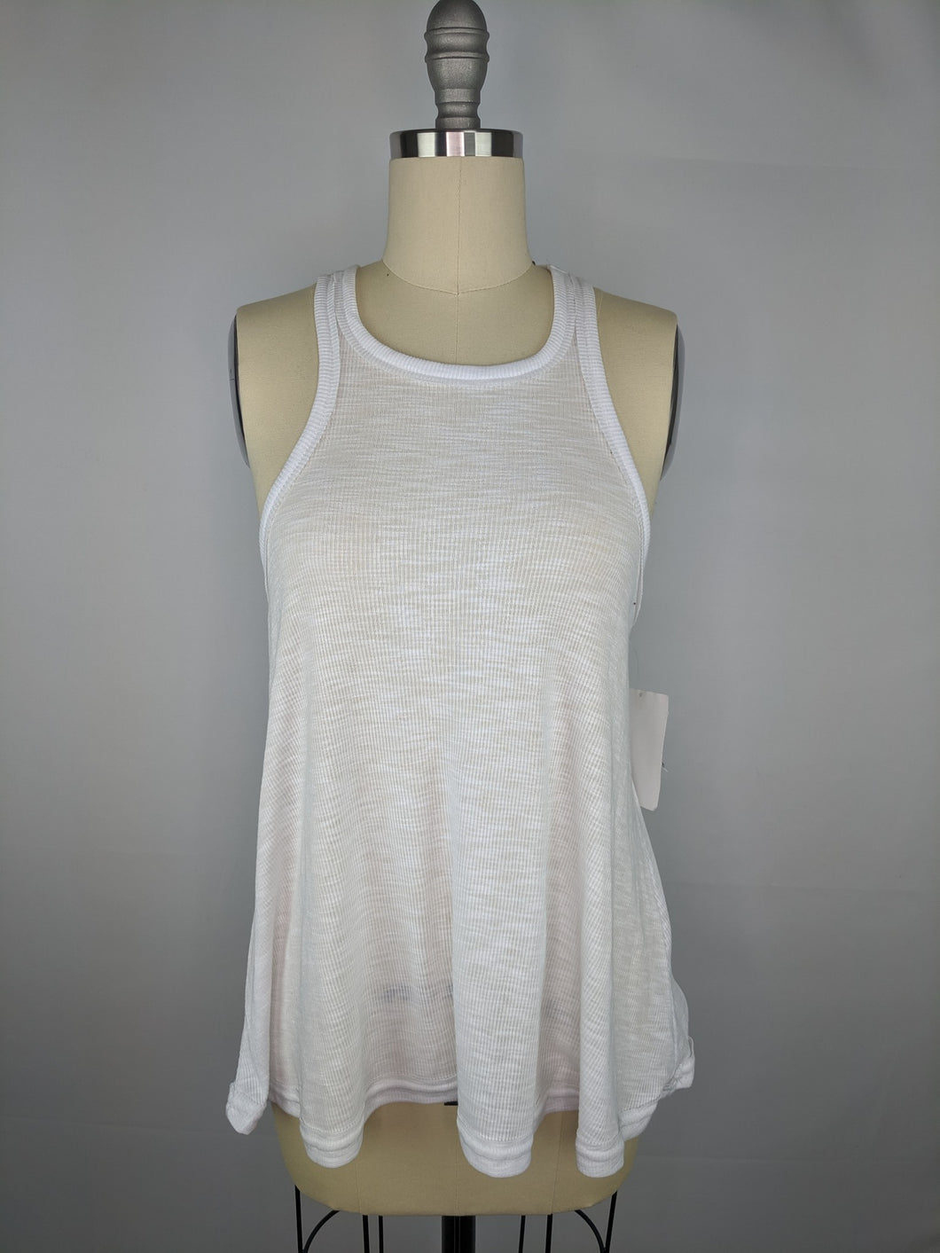 Intimately Free People Long Beach Tank sz XS White NWT