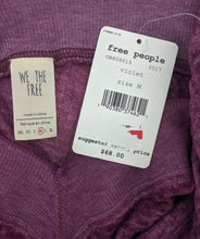 Load image into Gallery viewer, Free People South Side Thermal sz M Damaged NWT $68