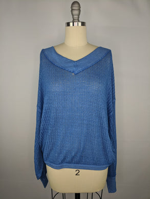 Free People Women South Side Thermal sz S Damaged NWT