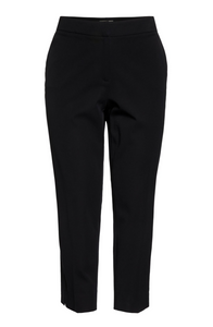 Plus Size Womens Sejour Straight Leg Ankle Pants Size 22W in Black NWT $89
