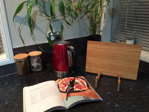Cookbook Holder & Neoprene Sleeve