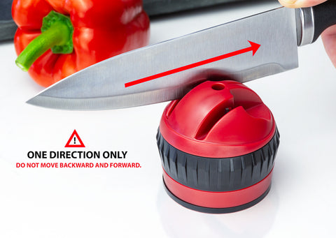 Razor Red Kitchen Knife Sharpener