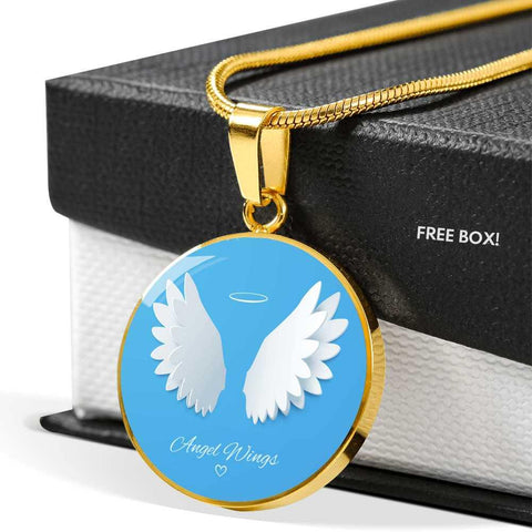 Angel Wings Pendant Memorial Pendant