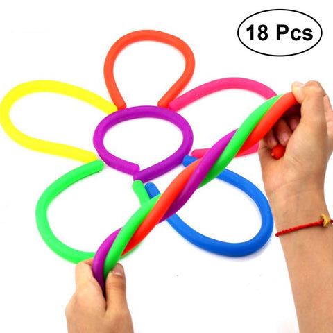 Colorful Sensory Stretch Toys