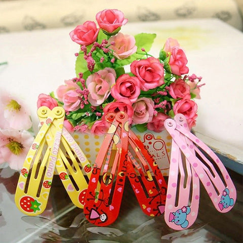 Fashion Girls Metal Hair Clips