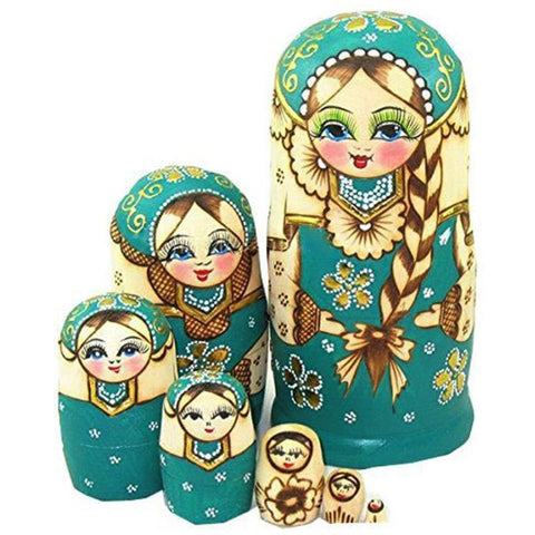 Wooden Matryoshka Doll