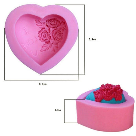 Rose Shaped Fondant Cake Chocolate