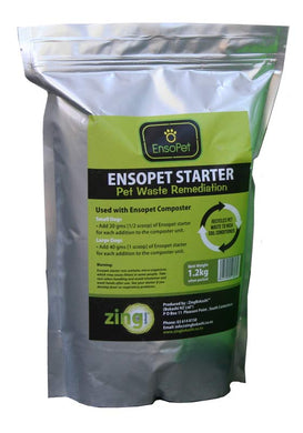 Bokashi Ensopet Pet Waste Starter 1.2kg bag