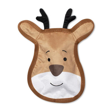 Fringe Studio SLEIGH ALL DAY Plush Squeaker Dog Toy