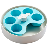 SPIN Interactive Adjustable Slow Feeder Bowl - Palette