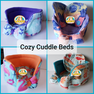 Mermaid Scales Cuddle Cup With 2 Pee Pads
