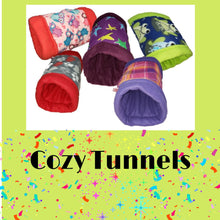 Load image into Gallery viewer, Floral Mermaid Cozy Tunnel