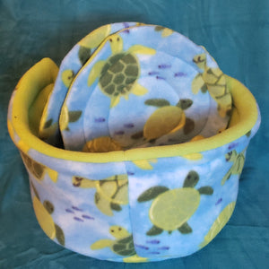 Bright Birds Cozy Bed Round With 2 Pee Pads