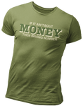 If it ain't bout MONEY Wrong number Graphic t-shirt