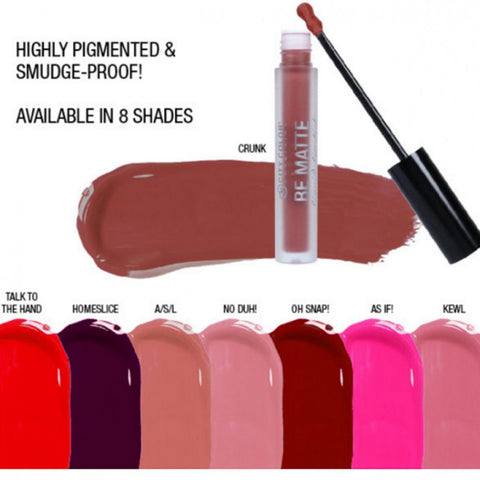 BE MATTE LIQUID LIPSTICK