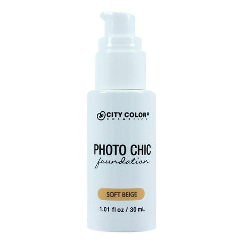 CITY COLOR PHOTO CHIC FOUNDATION
