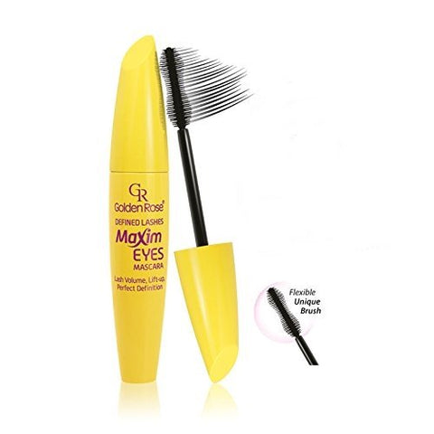 GOLDEN ROSE DEFINED LASHES MAXIM EYES MASCARA