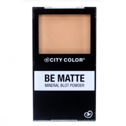 CITY COLOR BE MATTE POWDER