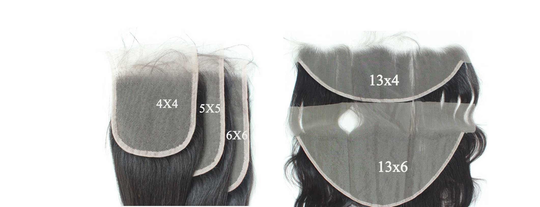 New Arrival : HD Lace Closure 4X4 5X5 66 13X4 13X6 and 2X6