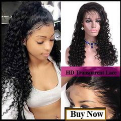 TRANSPARENT LACE WIGS DEEP WAVE