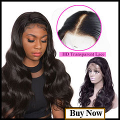 TRANSPARENT LACE FRONT WIGS BODY WAVE