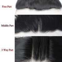 Forawme 13X4 Lace Closure 13x4 Ear to Ear Lace Closure Frontal Loose Wave