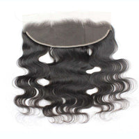 Forawme 13X4 Lace Closure Body Wave / 8 Inch / Free Part 13x4 Brown Lace Frontal Ear To Ear Lace Closure Piece