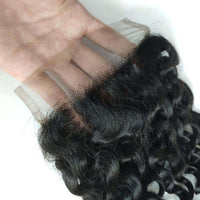 Forawme 4X4 Lace closure 4x4 Deep Wave Lace Closure Human Hair Closure Free Part