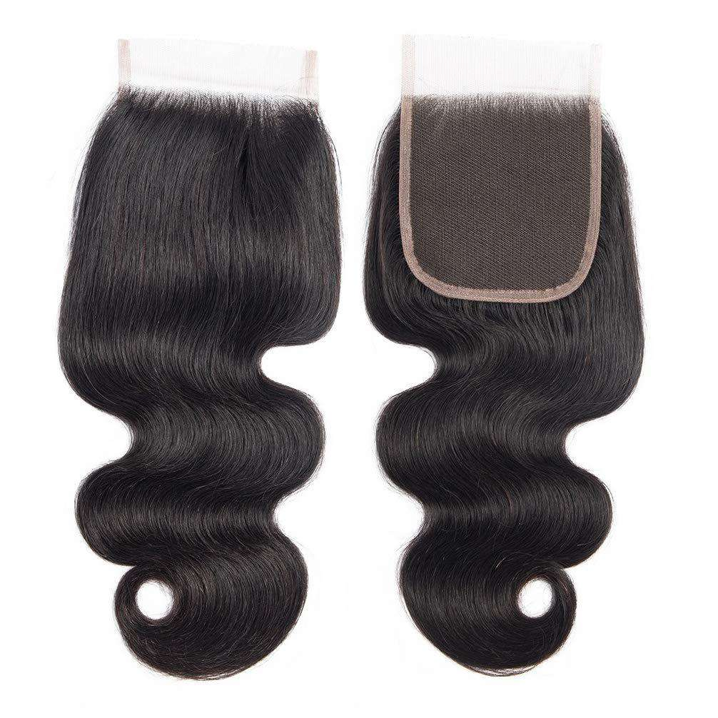 Forawme 4X4 Lace closure Lace Closure Human Hair 4x4 Body Wave Top Lace Closure Hair Piece