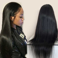 Forawme Front Lace Wig 13X6 Lace Front Wigs Mink Human Hair Straight