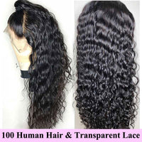 Forawme HD Lace Wigs Lace Front Wigs Water Wave Pre-Plucked Curly Wet and Wavy