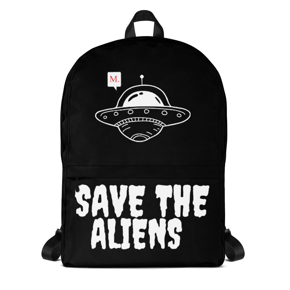 Save the aliens backpack