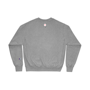 "Champion X Monroe Goods ""not a t-shirt"" sweatshirt"