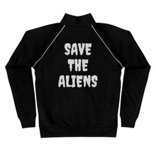 Load image into Gallery viewer, Save the Aliens K.O. Piped Fleece Jacket