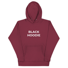 Load image into Gallery viewer, BLACK HOODIE