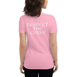 Respect the curve t-shirt