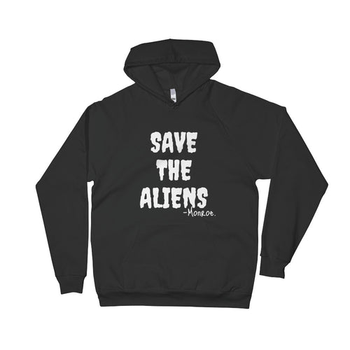 American Apparel X Monroe Goods Save the Aliens Hoodie