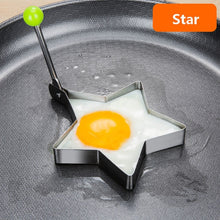Load image into Gallery viewer, Stainless Steel Fried Egg Molder