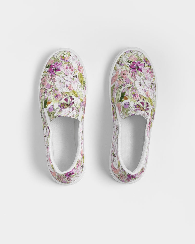 Magical Garden Women's Slip-On Canvas Shoe